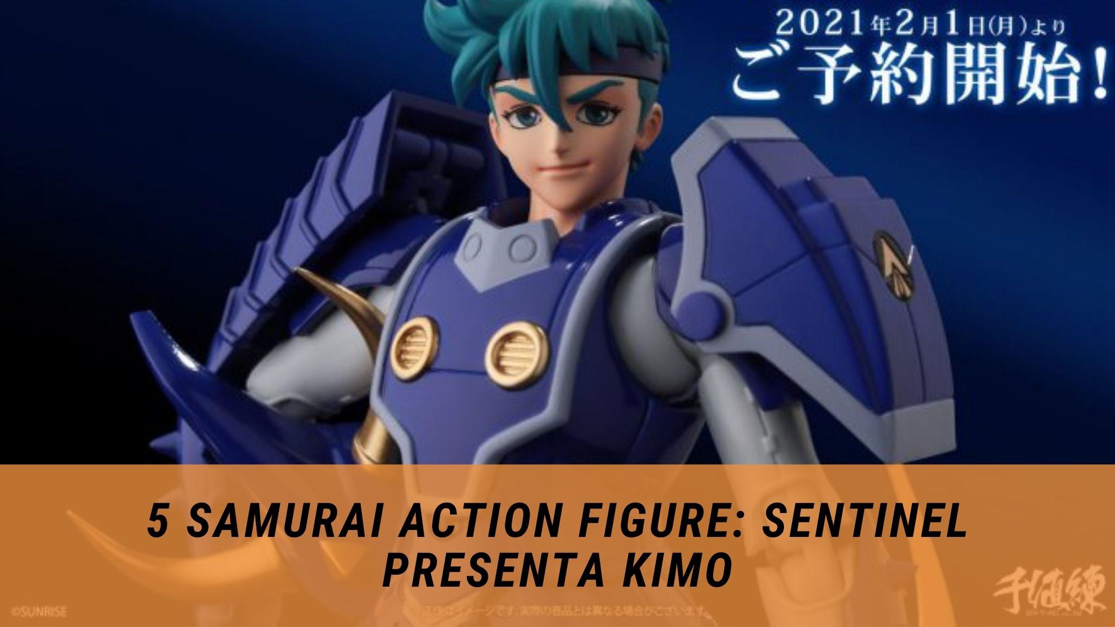 5 samurai action figure kimo