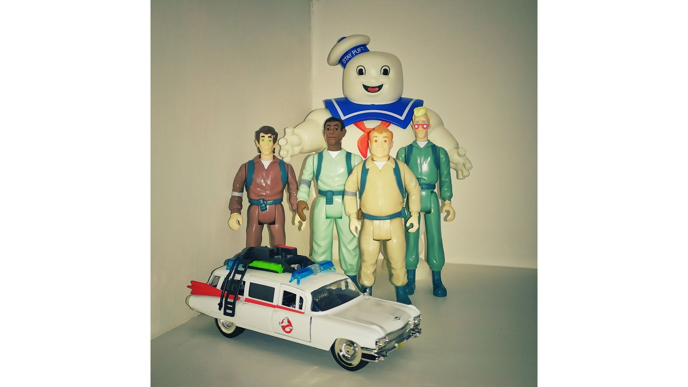 Real Ghostbusters Kenner